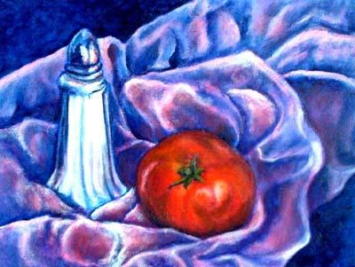 Tomato, Still Life by Kerry Jo Montoya
